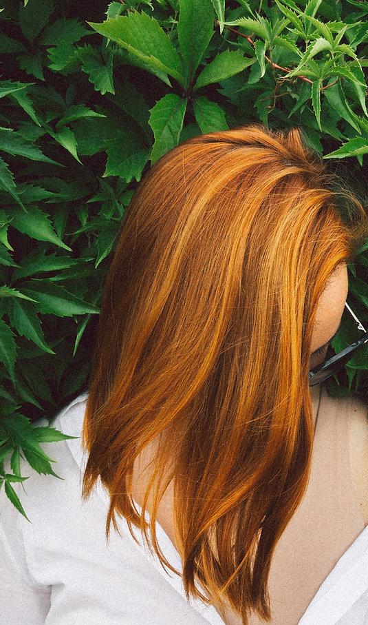 2021 Hair Color Fiery, Copper Red