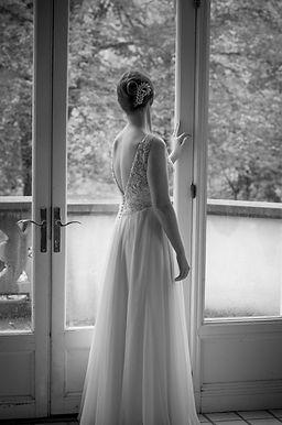 Bride at Callanwolde Wedding