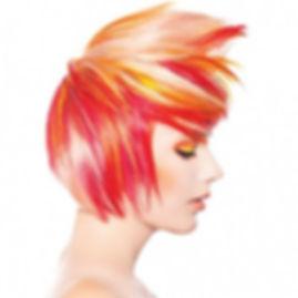 Atlanta Hair color specialists Pravana Neon Color