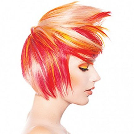 Atlanta Hair color specialists Pravana Neon Color