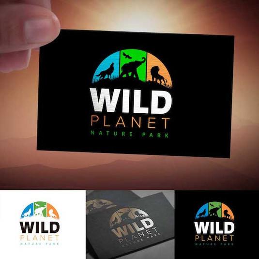 Логотип Дикая планета
