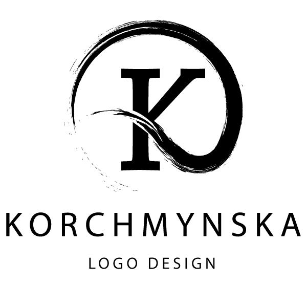 Korchmynska logo design logo логотип дизайнера Корчминская Елена создание логотипов