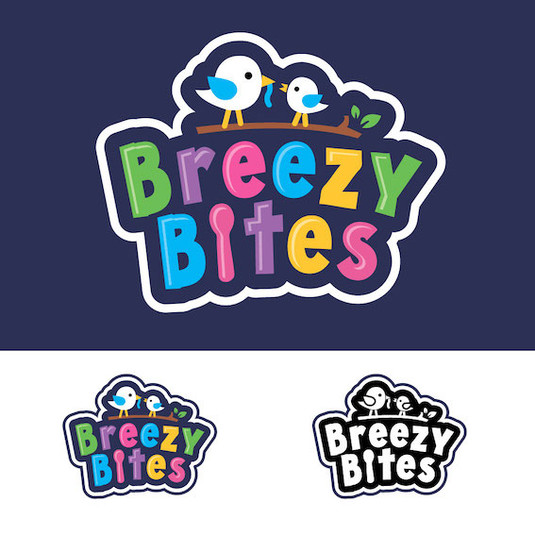 логотип для бренда детского питания