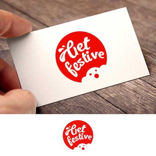 логотип для фестиваля вкусной еды