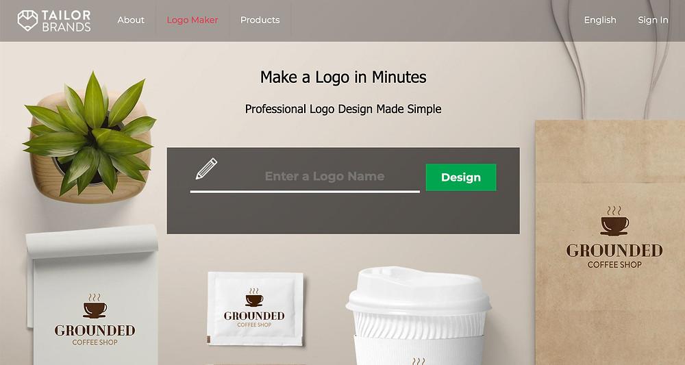 TailorBrandsLogoMaker Создание логотипа самостоятельно легко быстро и бесплатно. Бесплатные программы для создания логотипа