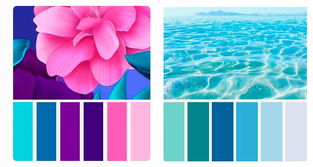Цветовые схемы для сайта, логотипа и бренда, имидж бренда, цветовые схемы, цветовые сочетания, подбор цветов, набор цветов