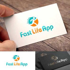 Логотип для приложения для бега