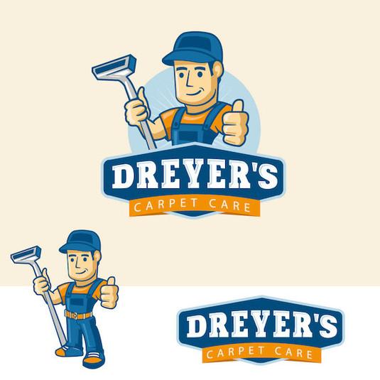 логотип для компании чистки ковров