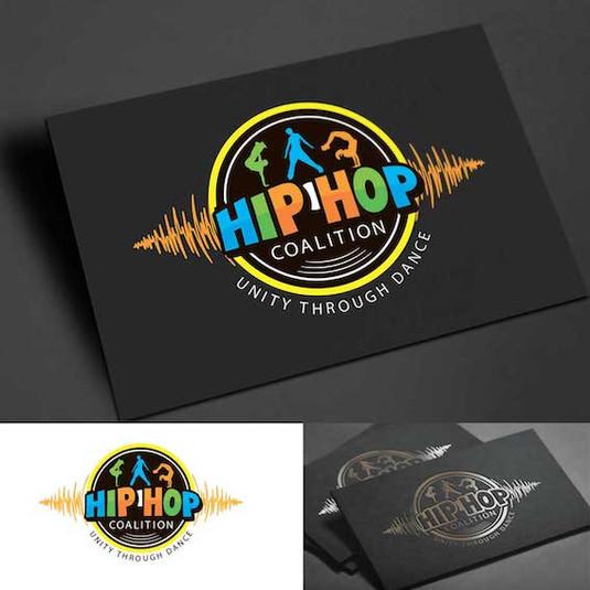 Логотип для студии хип хоп танца
