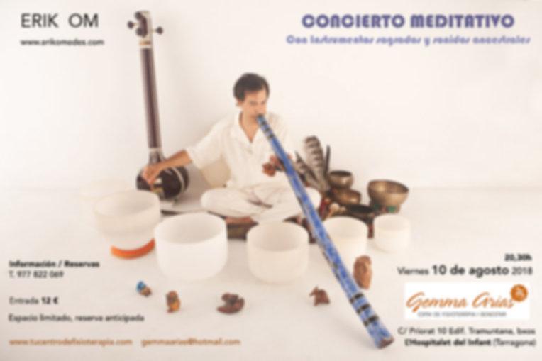 Erik Om Cuencos Barcelona ; La magia del sonido