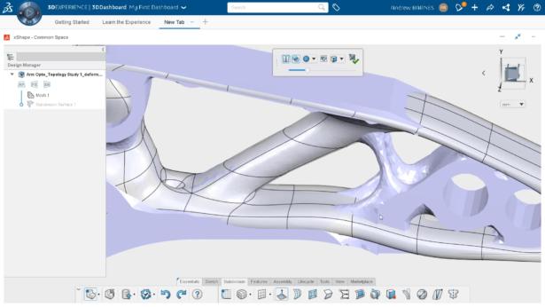 3DExperience topologia