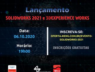 Lançamento SOLIDWORKS 2021 e 3DEXPERIENCE WORKS