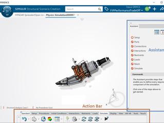 Simulação guiada com engenheiro de desempenho estrutural