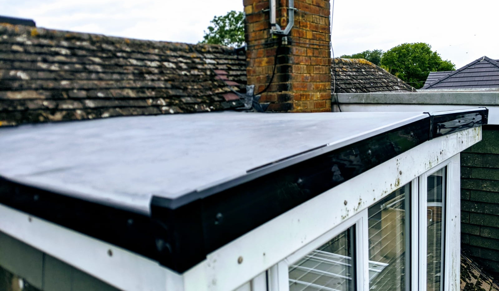New Flat Roof Installation