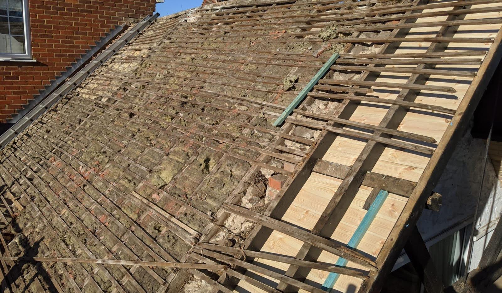 Timer Roof Battening