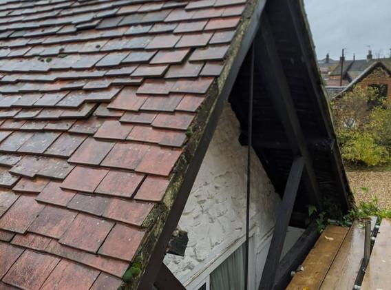 Close Up Roof Shot