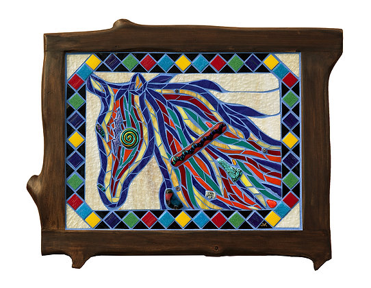 Painted Pony Mosaic