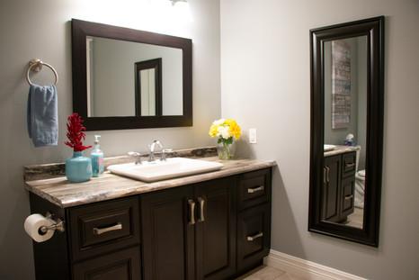 Shared bathroom - sink / vanity
