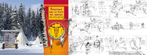 Piste Thématique - La Piste Des Indiens | Courchevel, France | 2005