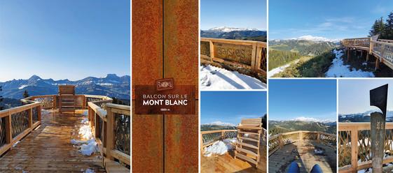 Le Balcon sur le Mont-Blanc - Les Saisies 2020