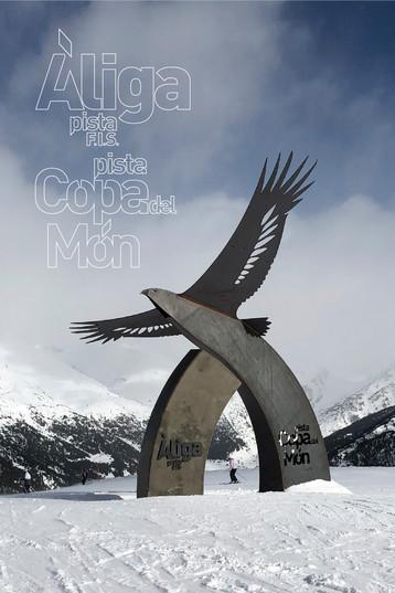 Structure géante | Àliga Copa Del Mon 2019 | Soldeu El Tarter - Grandvalira, Andorre | 2018