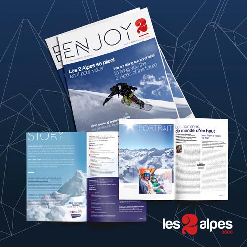 Création Graphique | Les 2 Alpes , Isère | 2018-2019