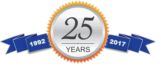 Celebrating 25 Years in business!