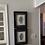Thumbnail: Pair of 11x14in Framed Campan Vert Marble Artwork