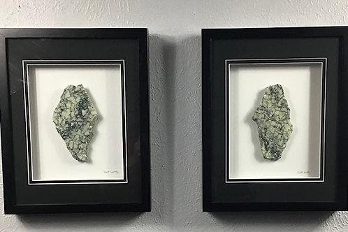 Campan Vert Marble (11x14 - Set of 2)
