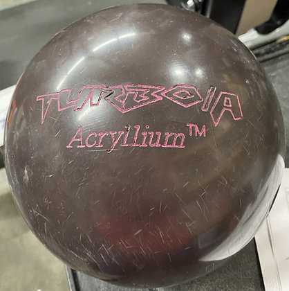16LB Ebonite Turbo/A Acryilium