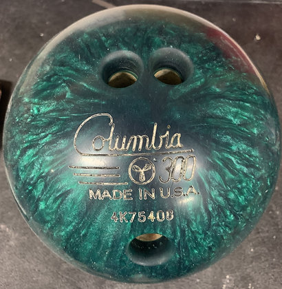 11LB Columbia 300 White Dot (Green)