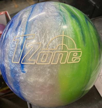 15LB Brunswick TZone - Green/Blue/Silver