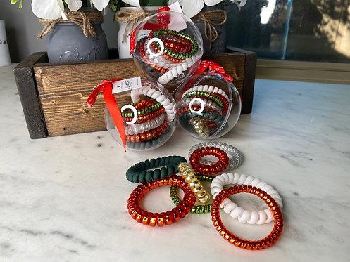 Christmas Hair Tie Ornament