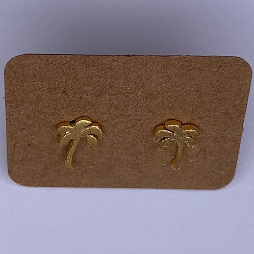 Palm Tree Earrings