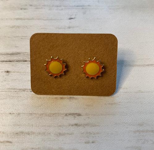 Sun Earrings