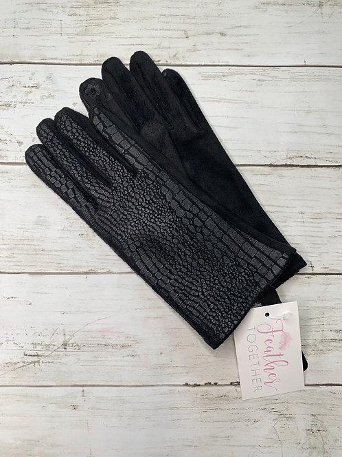 Snake Skin Gloves