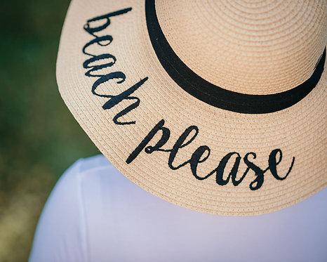 """Beach Please"" Hat"