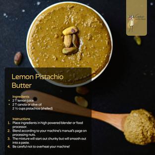 Lemon Pistachio Butter