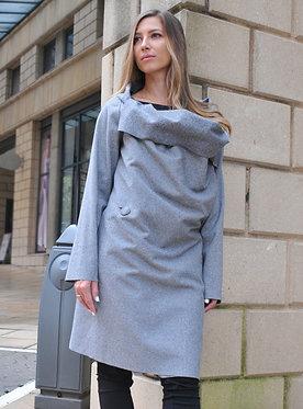 The Benni Jacket - Grey Melange