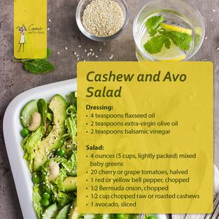 Cashews & Avo Salad