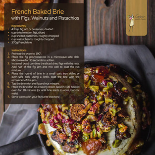 French Baked Brie