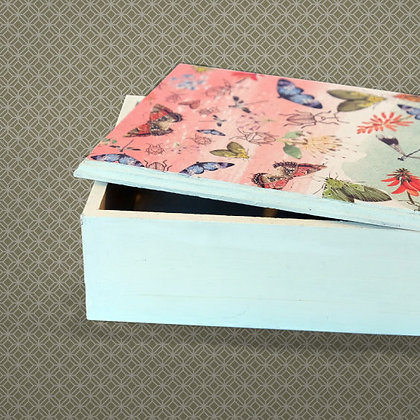 Decoupage Rectangular Box Kit