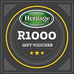 R1000  Heritage Voucher