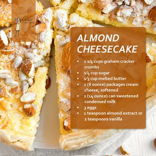 Almond Cheese Cake