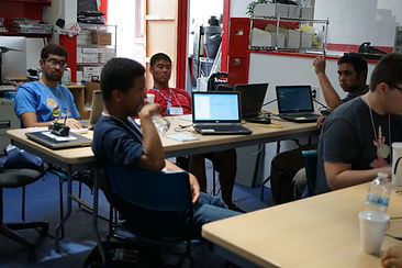 photo of stem students taking part in project quest