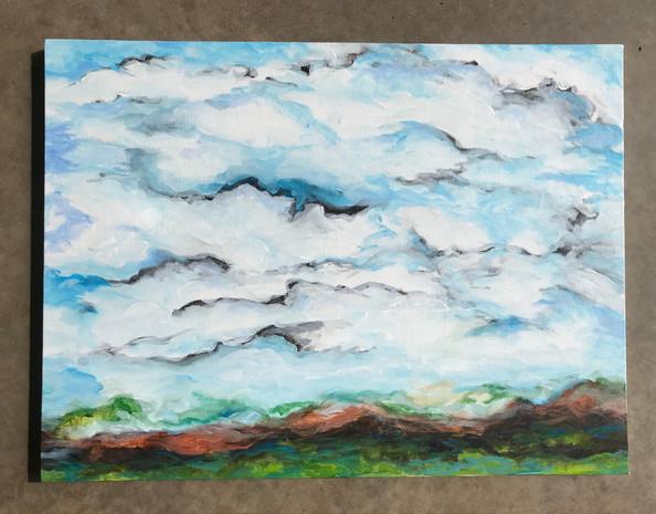 Expressionist Landscape