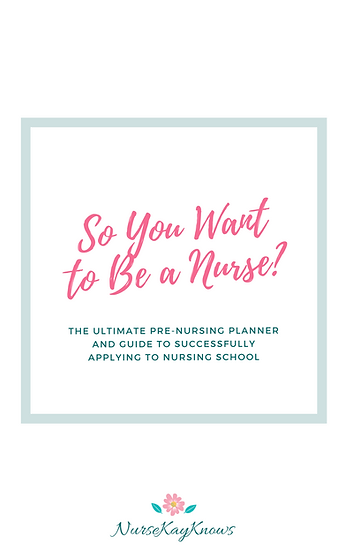 So You Want to Be A Nurse - Ebook