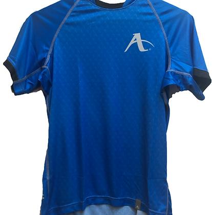 Arawaza Blue performance T Shirt WKF