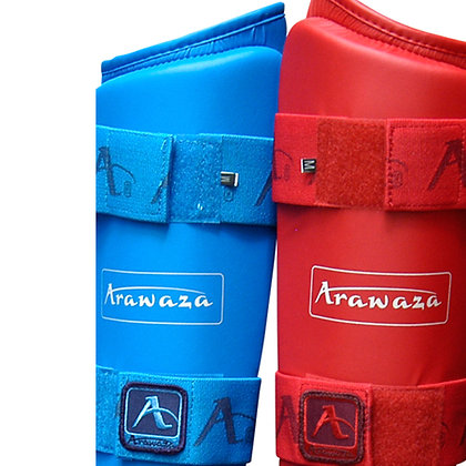 Arawaza Shin and instep protectors WKF Approved