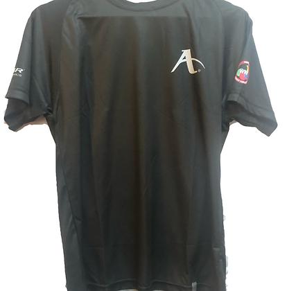 Arawaza Black Performance T Shirt WKF